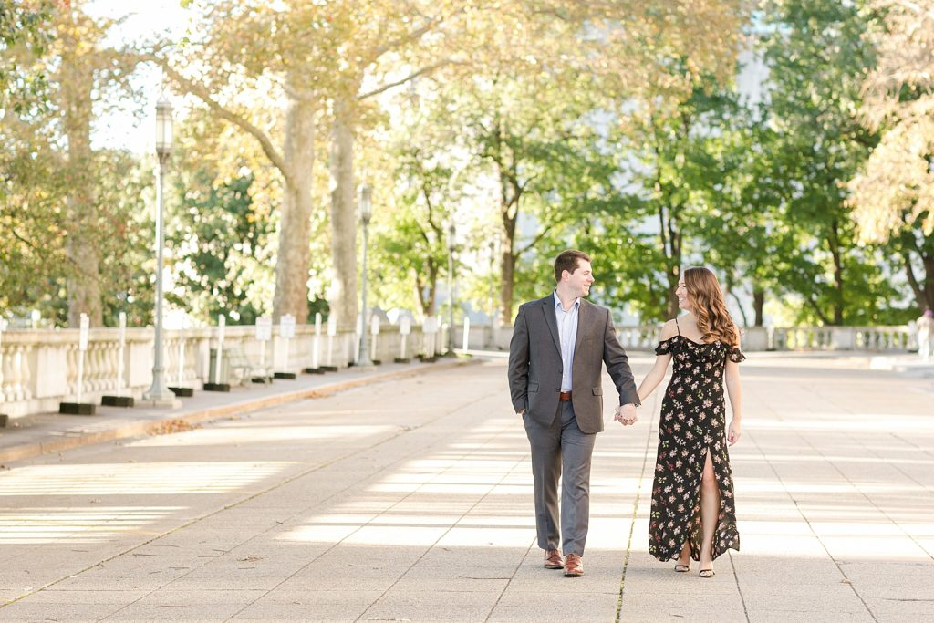 Harrisburg PA Capitol engagement photo
