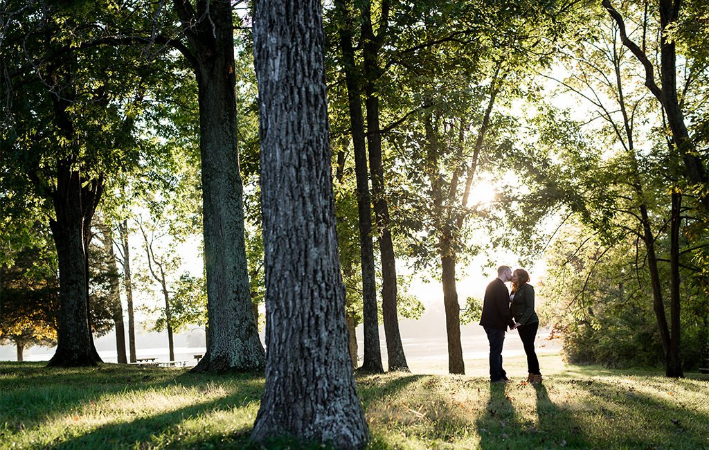 Gifford Pinchot State Park engagement photo location