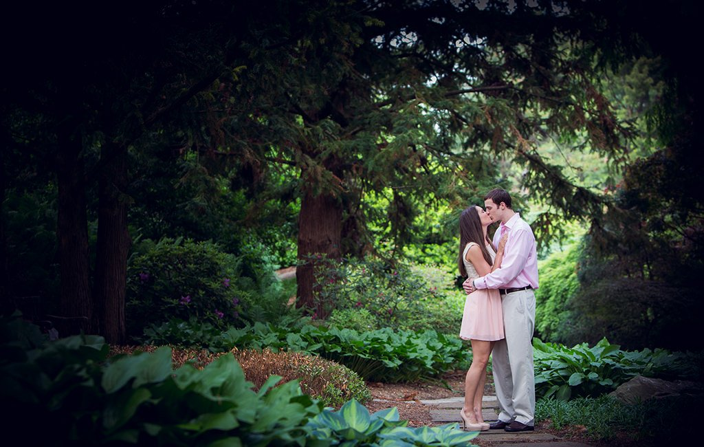 hershey gardens engagement photo locations