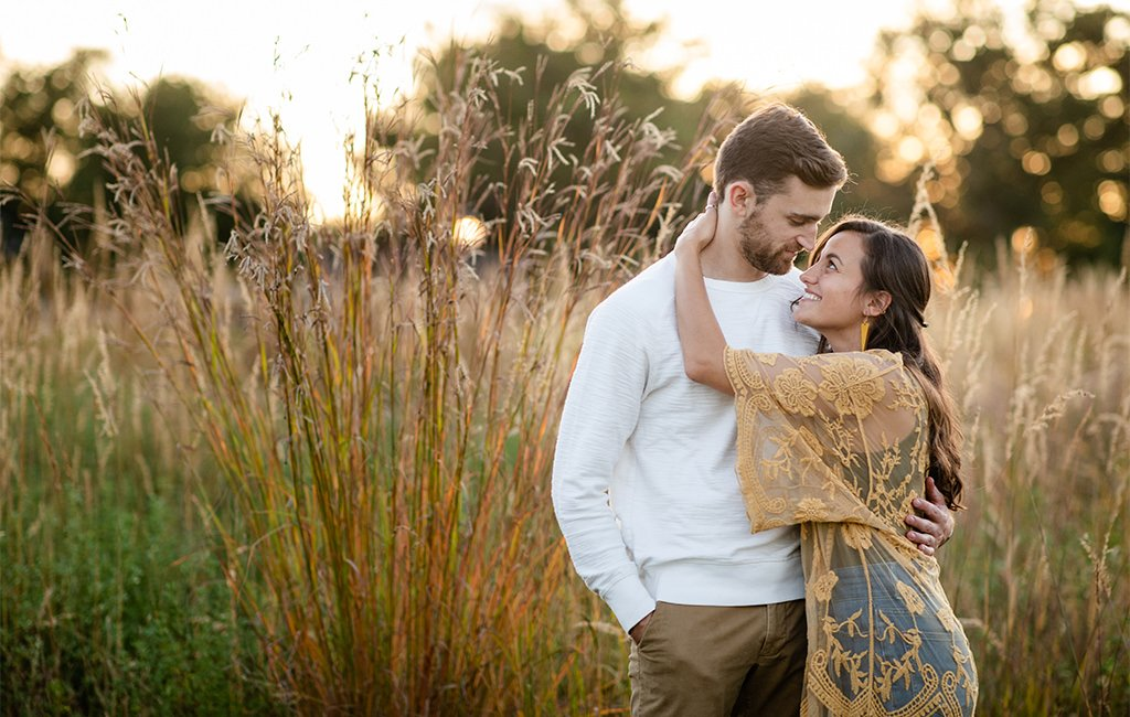 Pine Grove Furnace Stare Park engagement photo