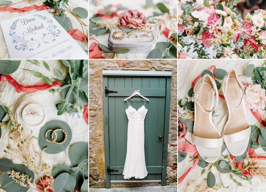 wedding details from a hollyhedge wedding