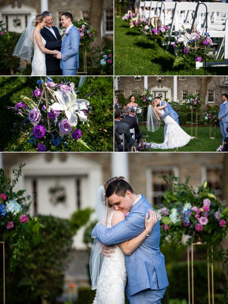 A Linwood Estate wedding ceremony