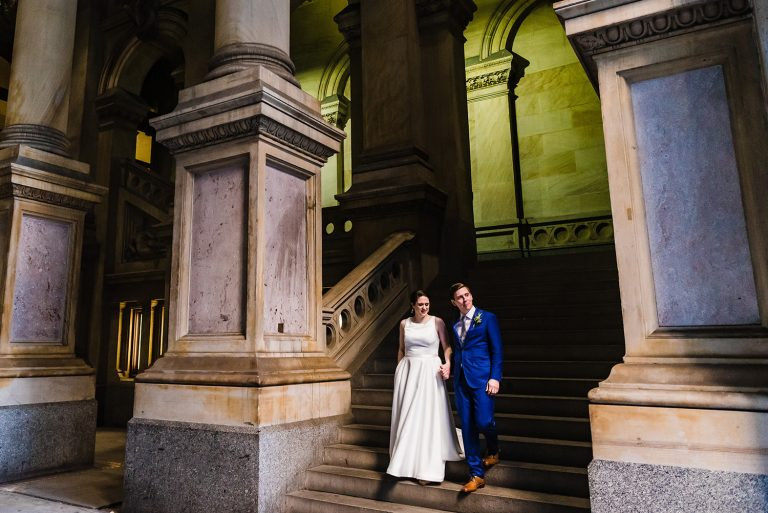 A Stylish Wedding at Reading Terminal Market in Philadelphia, PA