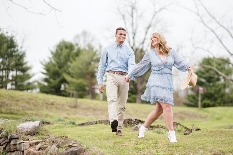 Alexia and Eric's Rider Park Engagement Session Near Williamsport, PA