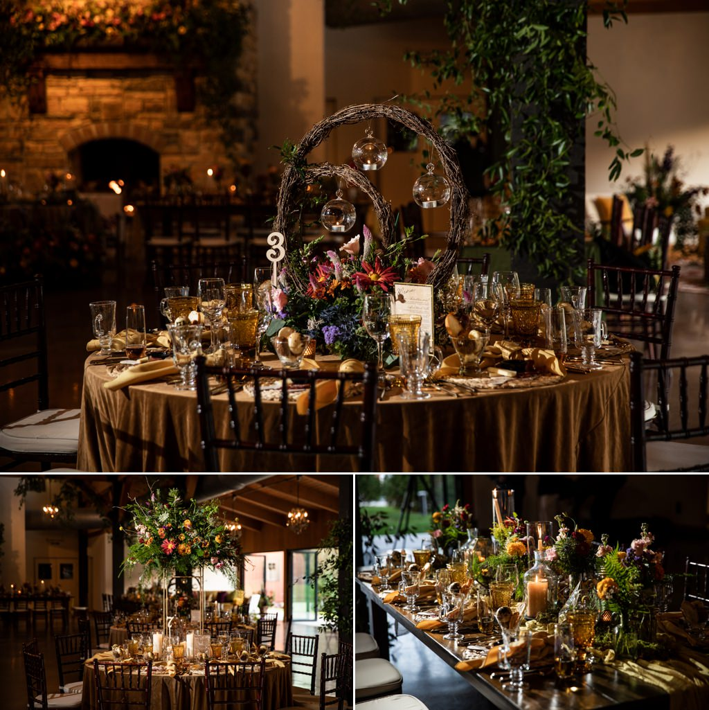Wedding reception details done by jdk at historic acres of hershey pa