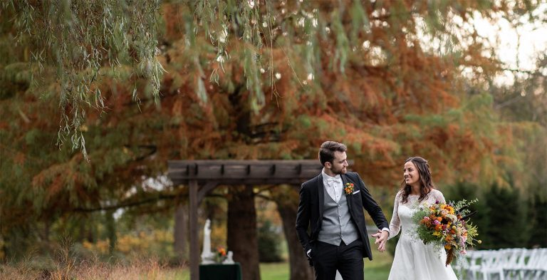 A Beautiful Fall Wedding at Historic Acres of Hershey PA