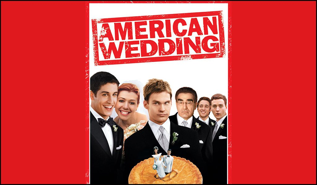 the cover for the American Wedding movie featuring many pop punk wedding songs.