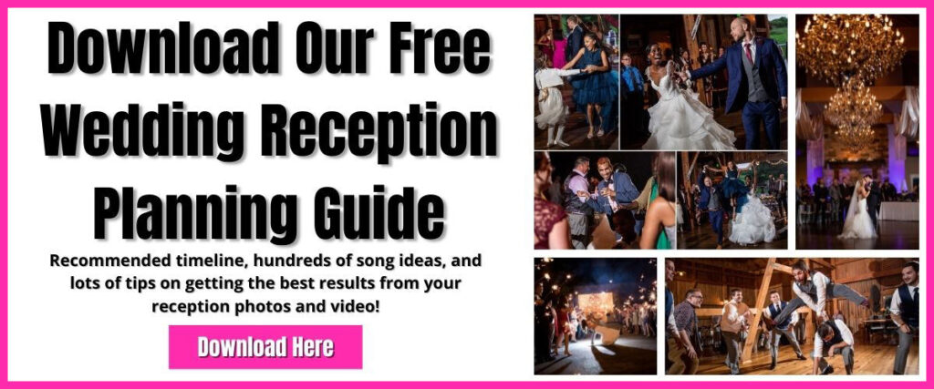 a planning guide for the wedding reception