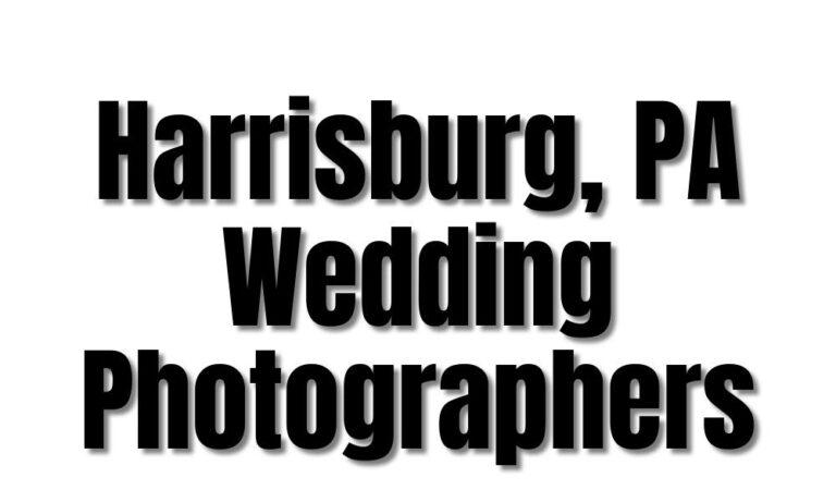 43 Best Harrisburg PA Wedding Photographers (2021)