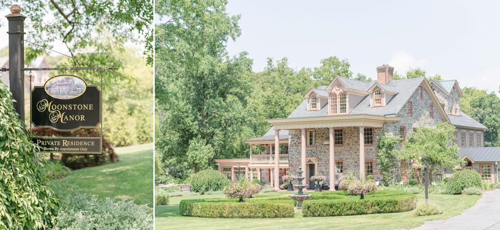 A photo of Moonstone Manor, a wedding venue in Elizabethtown, PA